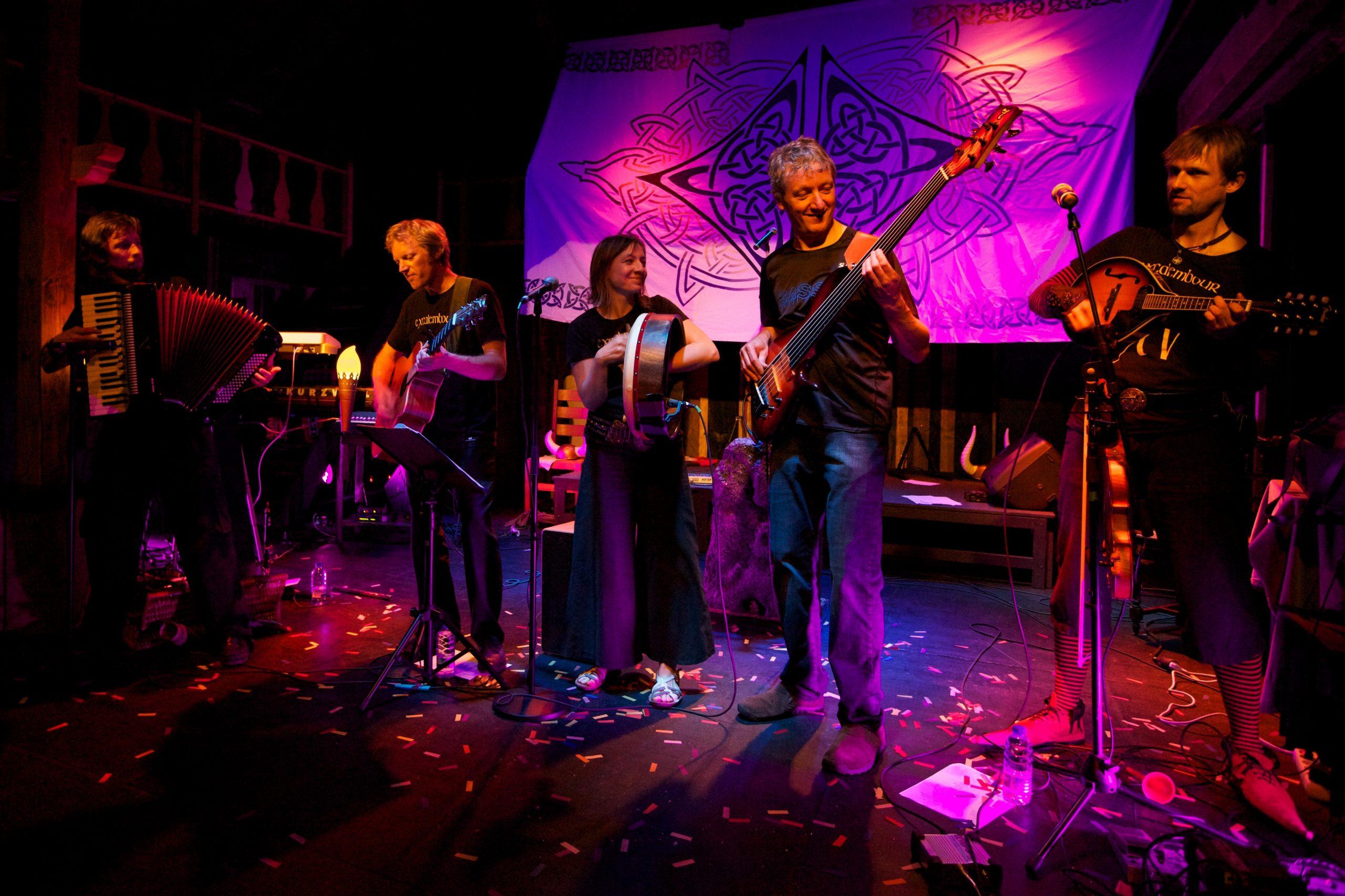 Excalembour Rocktet en concert