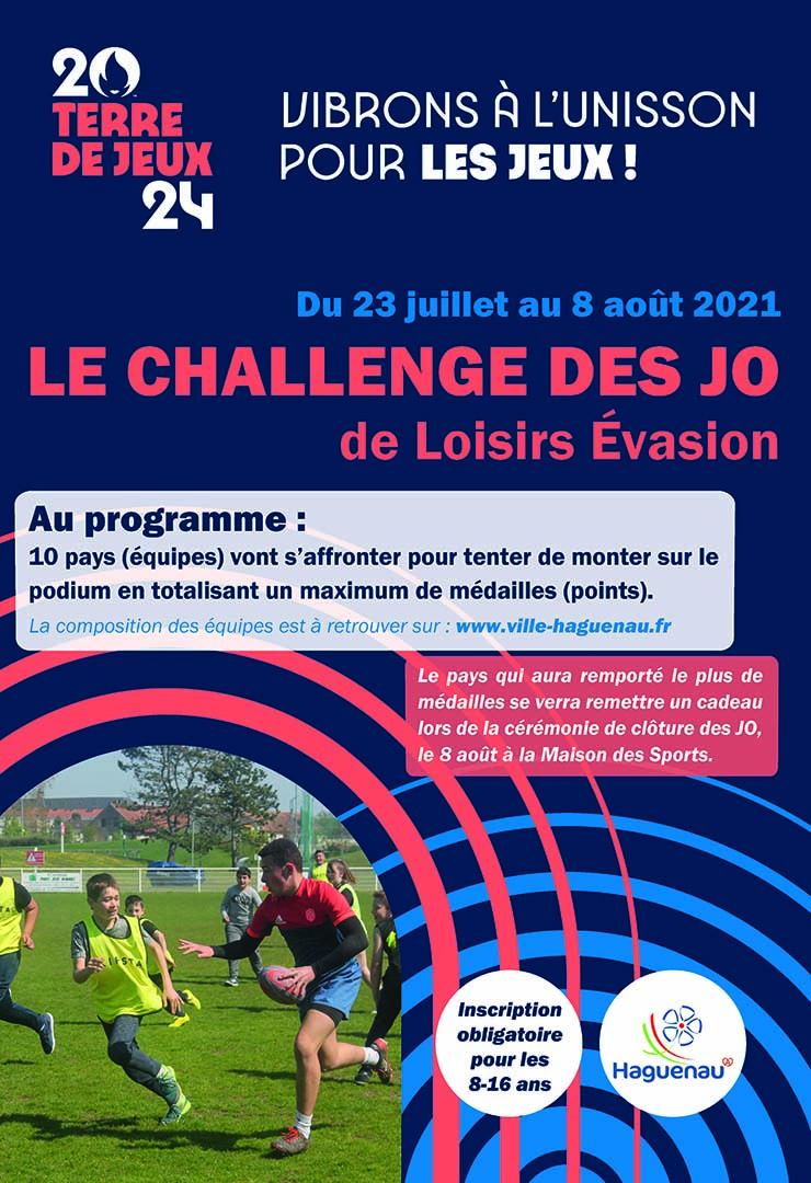 Le Challenge des JO de Loisirs Évasion !