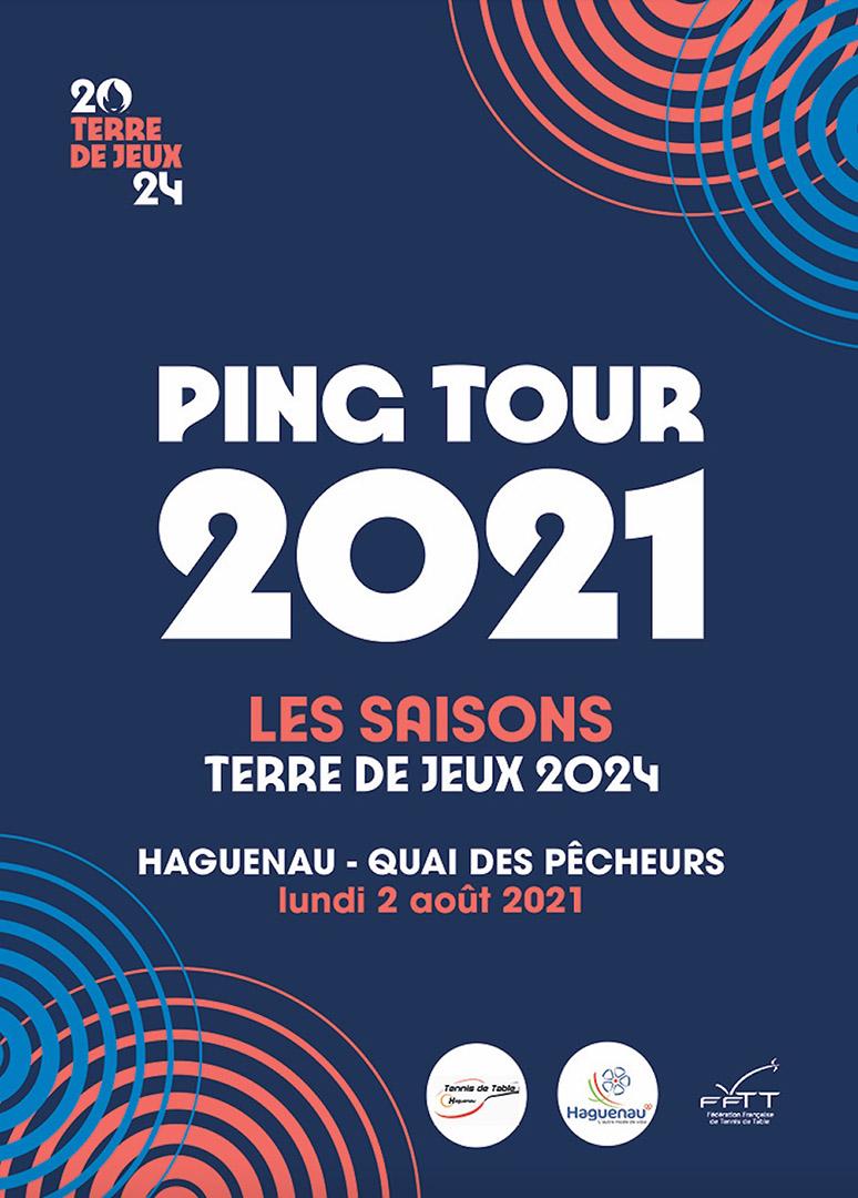 La caravane du Ping Tour 2021 fait étape à Haguenau !