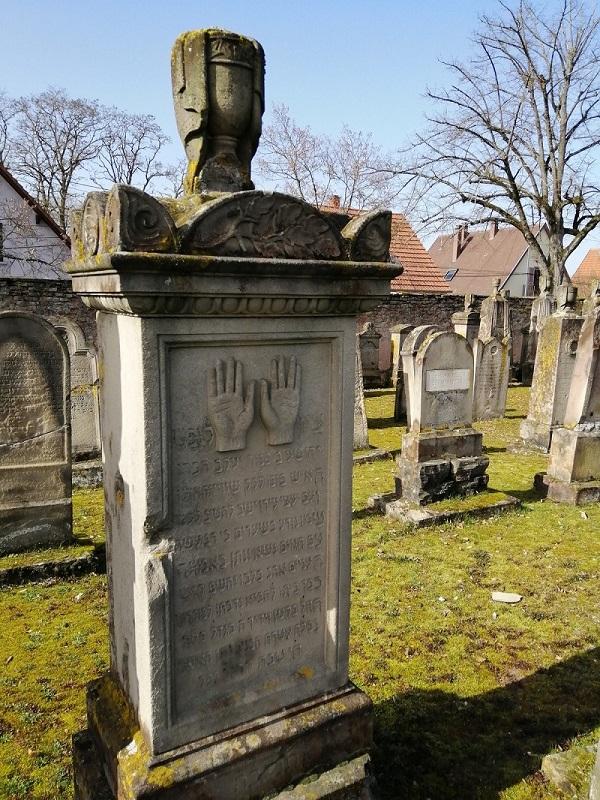 Visite du cimetière juif