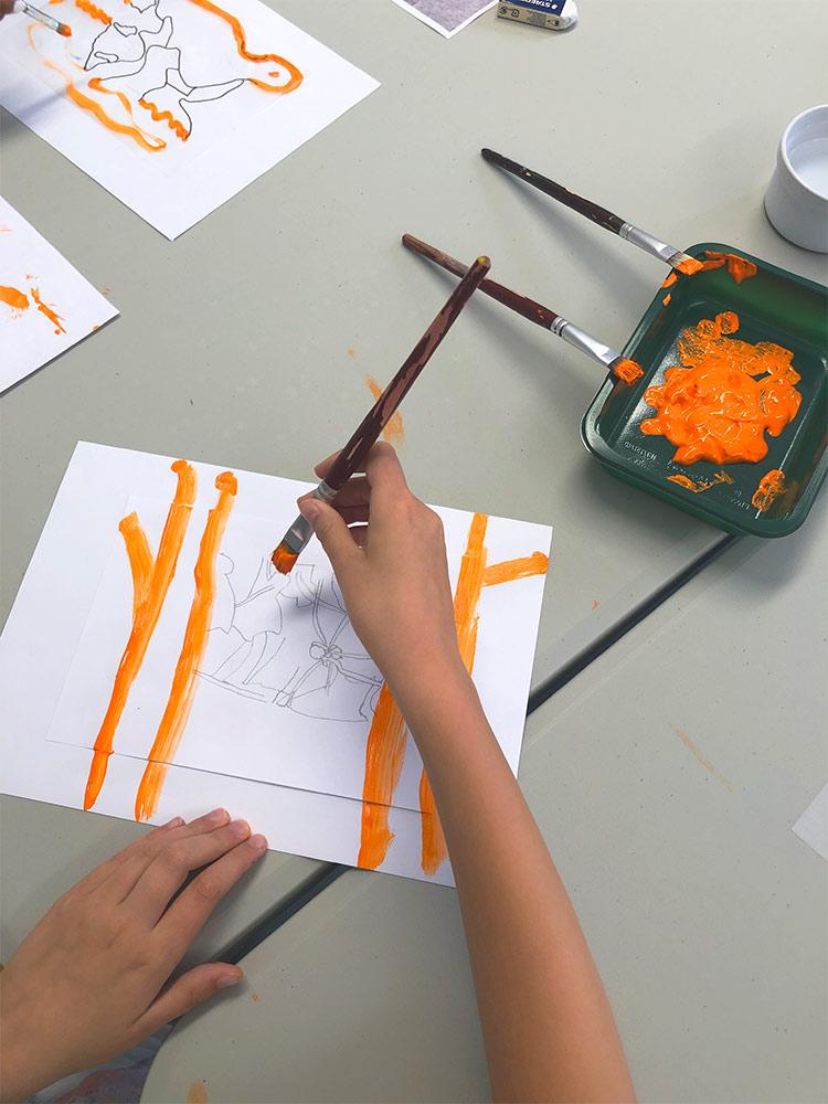 """Atelier artistique enfant """"Zoome et dézoome"""""""