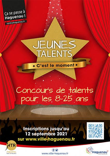 """Concours """"Jeunes Talents, c'est le moment"""""""