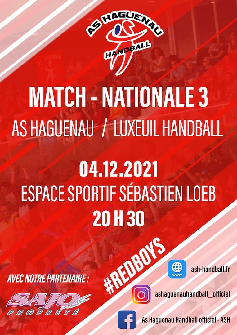 Handball Match Nationale 3
