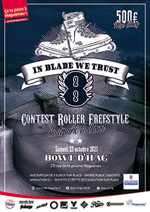 """Contest Roller Freestyle """"In Blade We Trust 8"""""""