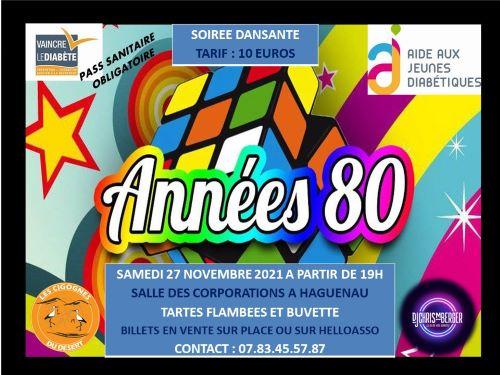 SOIREE ANNEES 80
