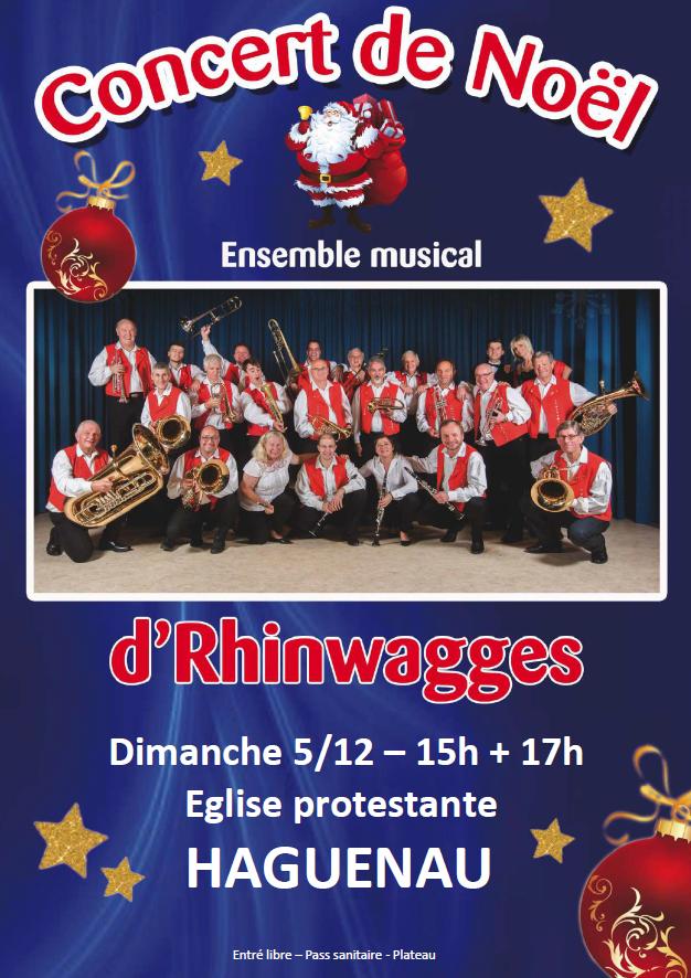 Concert de Noël de l'ensemble musical d'RHINWAGGES